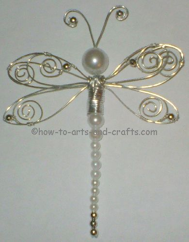 how to make a dragonfly bead pet