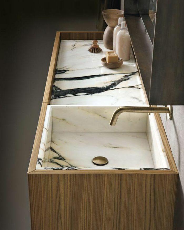 Awesome Element Salle De Bain En Marbre Gallery - House Design ...