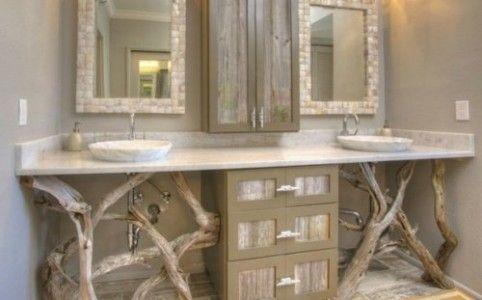 Id e d coration salle de bain d co salle de bain bois for Idee deco salle de bain bois