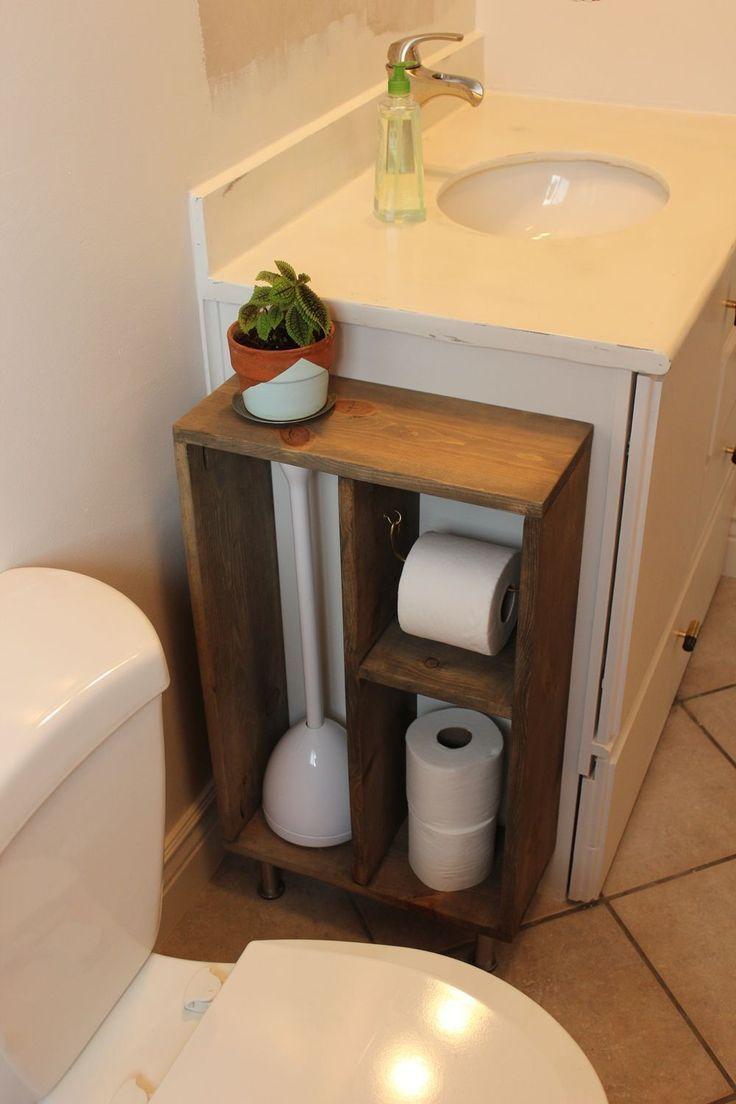 Id E D Coration Salle De Bain Diy Simple Brass Toilet Paper Holder