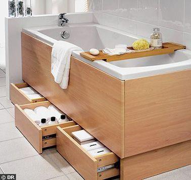 id e d coration salle de bain quand on est court d espace de rangement dans la petite salle. Black Bedroom Furniture Sets. Home Design Ideas