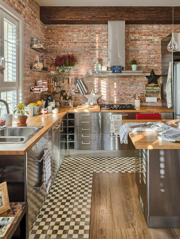 Id e relooking cuisine comment choisir la cr dence de - Comment poser une credence de cuisine ...
