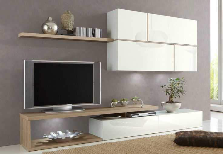 id e relooking cuisine composition tv murale design laqu e blanche birdy ensemble meuble tv. Black Bedroom Furniture Sets. Home Design Ideas