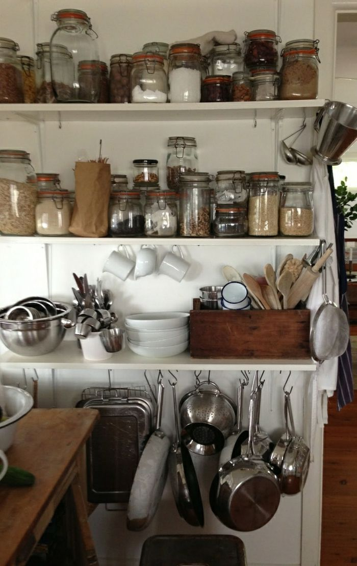 id e relooking cuisine les bocaux en verre sont un vrai hit pour la cuisine. Black Bedroom Furniture Sets. Home Design Ideas