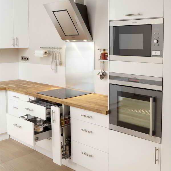 Idee Relooking Cuisine Meuble Cuisine Blanc Laque Ikea 2udance