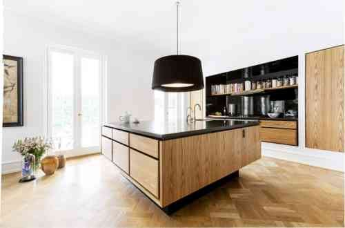 id e relooking cuisine meuble de cuisine scandinave design en bois. Black Bedroom Furniture Sets. Home Design Ideas