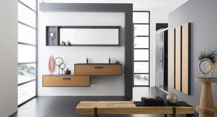 Salle de bain moderne lumi re et z nitude perene leading inspiration - Salle de bain lumiere ...