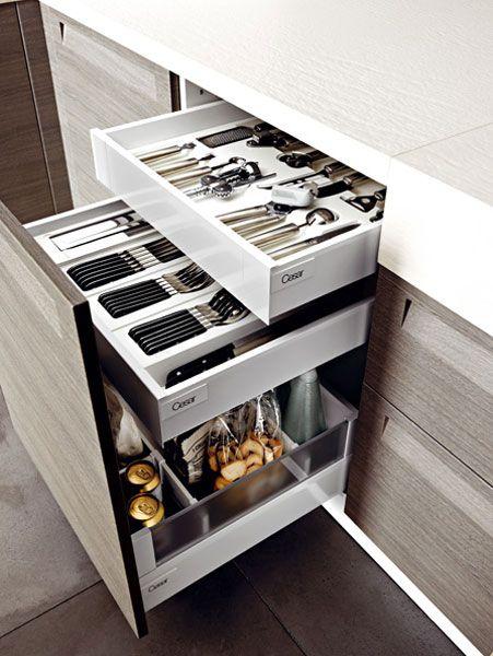 Id e relooking cuisine tiroir l anglaise dot de 2 for Tiroir pour placard cuisine