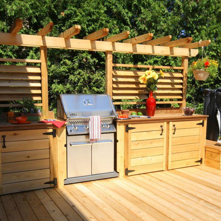 id e relooking cuisine un patio avec cuisine ext rieure un t rempli de souvenirs pr cieux. Black Bedroom Furniture Sets. Home Design Ideas