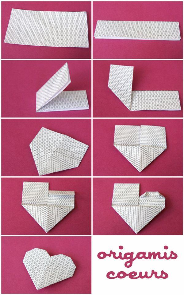 Id es cadeaux pour la f te des m res 2017 coeurs en origami la cabane id es listspirit - Date fete des grands meres 2017 ...