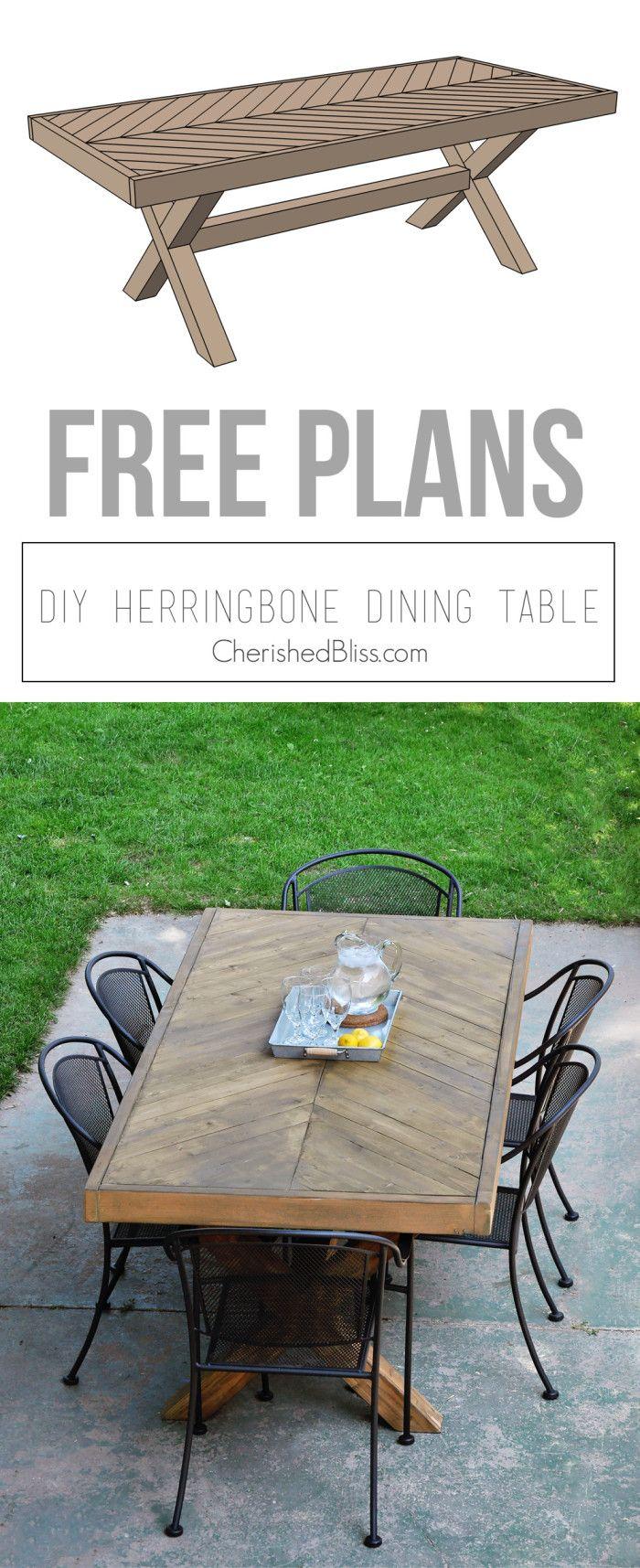 salle manger diy outdoor table free plans cherished bliss leading. Black Bedroom Furniture Sets. Home Design Ideas
