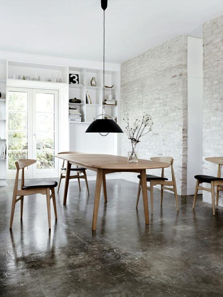 Inspirations Scandinaves salle à manger - intérieur moderne : inspirations scandinaves