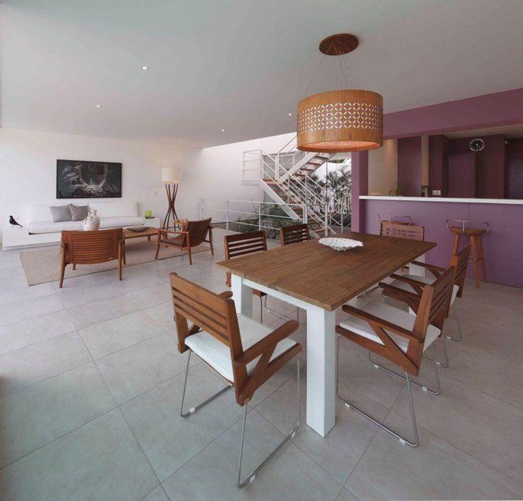 Kitchen Impossible Idee: Salle à Manger Design Contemporain