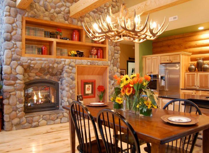salle manger salle manger lustre ramure4 leading inspiration. Black Bedroom Furniture Sets. Home Design Ideas