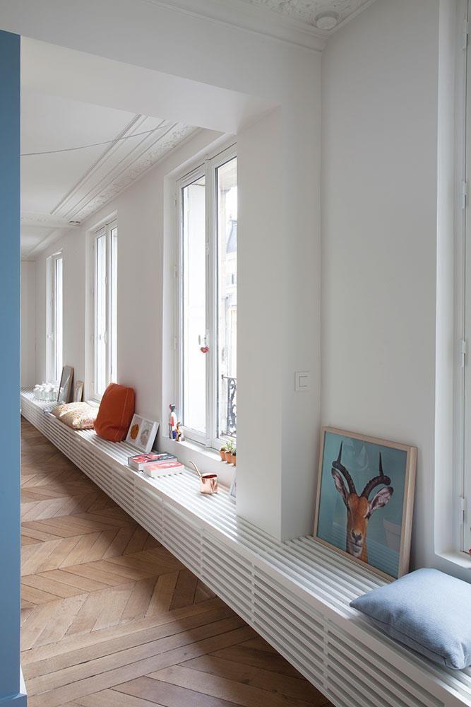 Salle à manger - Séjour d\'un appartement Haussmannien à Paris dans ...