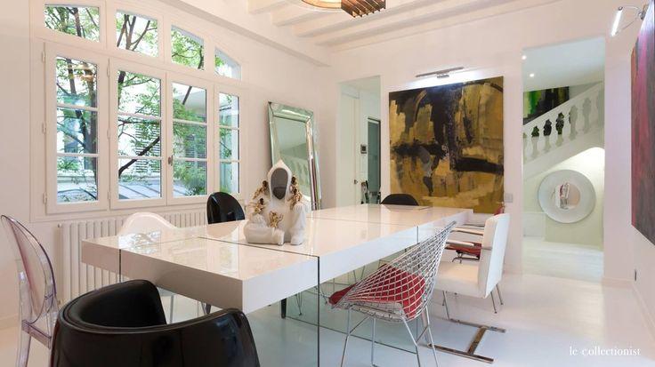 Un loft f erique dans le quartier montparnasse paris leading inspiration - Salle a manger loft ...