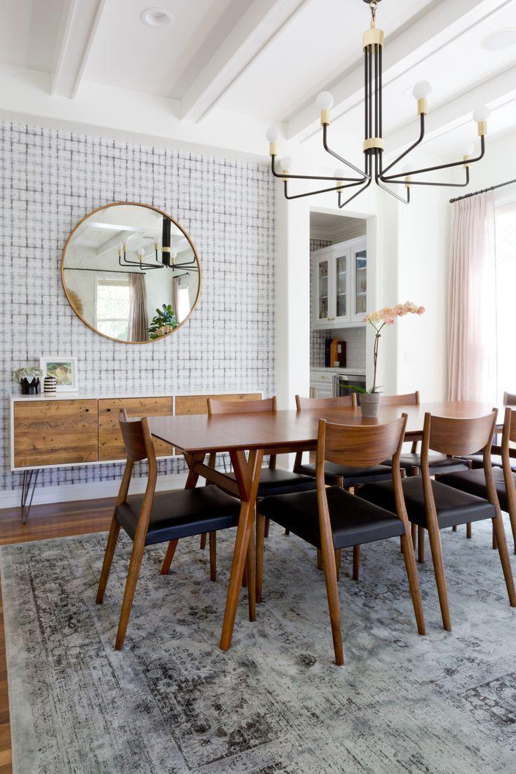 salle manger vintage modern dining room a mix of patterns in blue hues photography amy ba. Black Bedroom Furniture Sets. Home Design Ideas