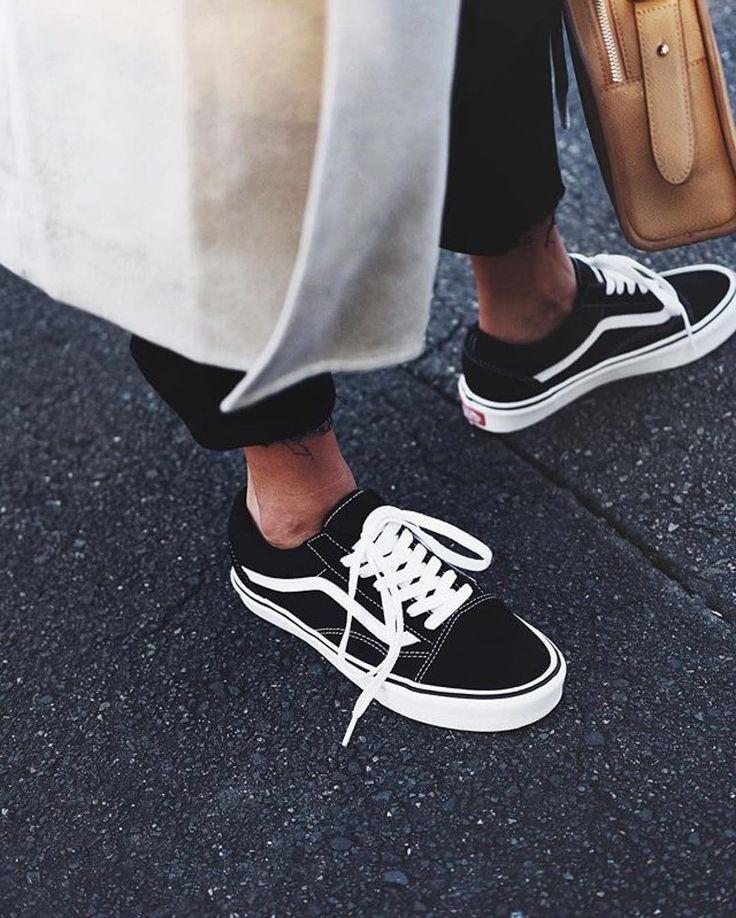 basket vans noir femme