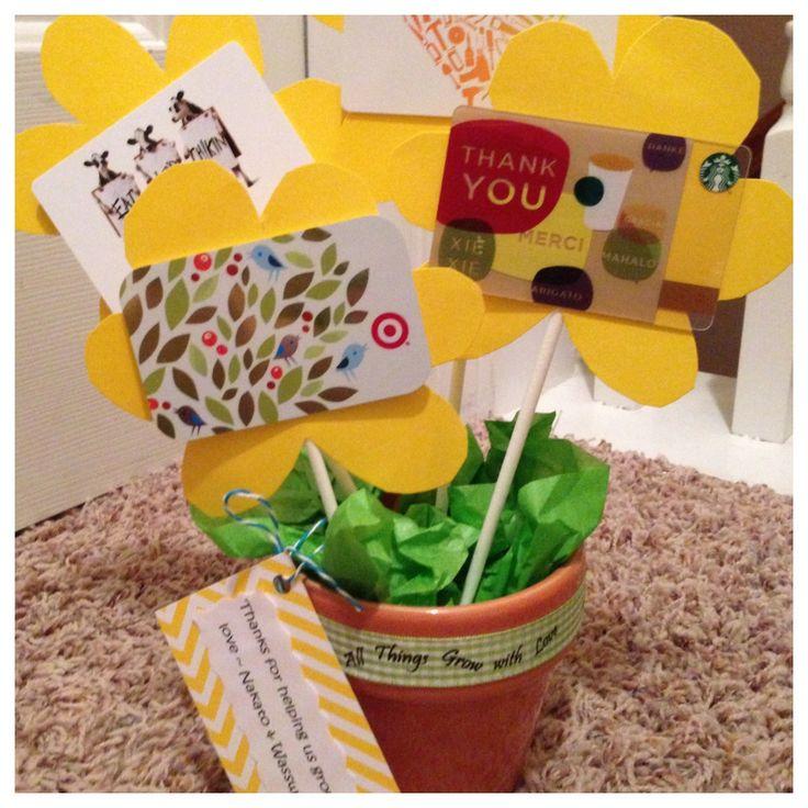 tendance basket 2017 teacher gift even small amounts 5 per flower would be super nice at. Black Bedroom Furniture Sets. Home Design Ideas
