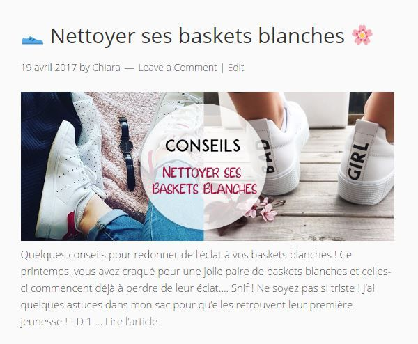 nettoyer des chaussures adidas