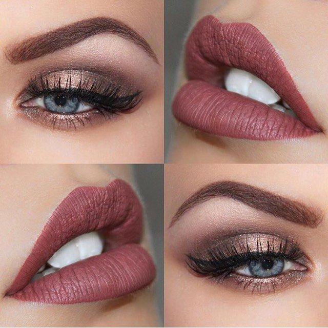 Tendance maquillage yeux 2017 2018 combo incroyable brookesimonsmua makeup - Tendance make up 2017 ...