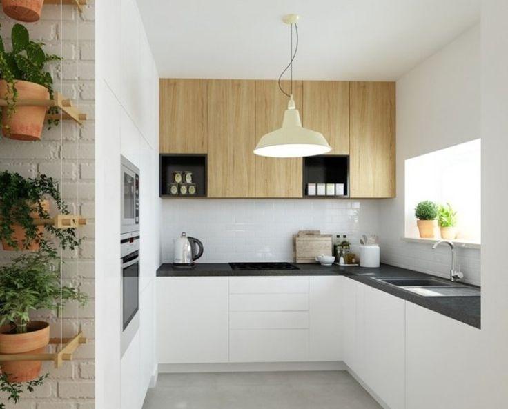 Plan de travail cuisine 50 id es de mat riaux et couleurs leading - Materiaux plan de travail cuisine ...