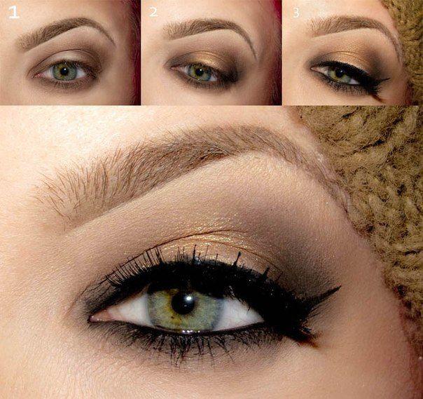 Suivez 3 étapes pour le maquillage des yeux au cuivre naturel pour . eadd3d167fac
