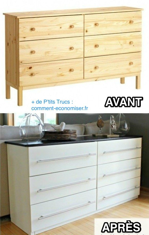 Idée relooking cuisine - 19 Astuces Pour Rendre Vos Meubles Ikea ...