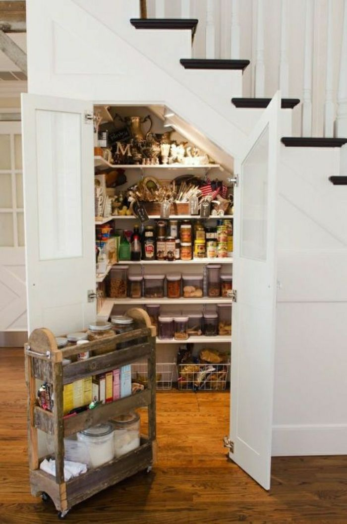 Idee Relooking Cuisine Adoptez L Amenagement Sous Escalier Chez