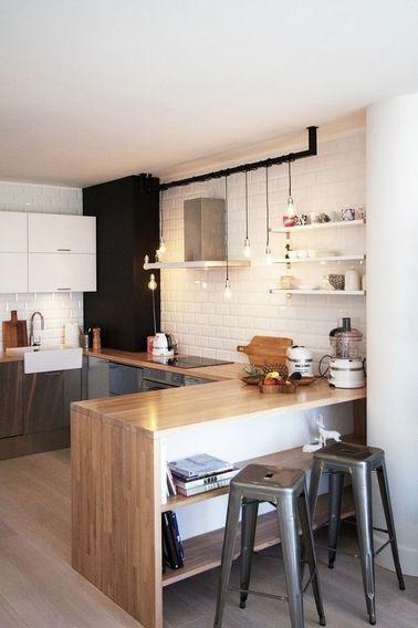 Am nagement optimis et d co pour ma cuisine ouverte - Idee deco cuisine ouverte ...