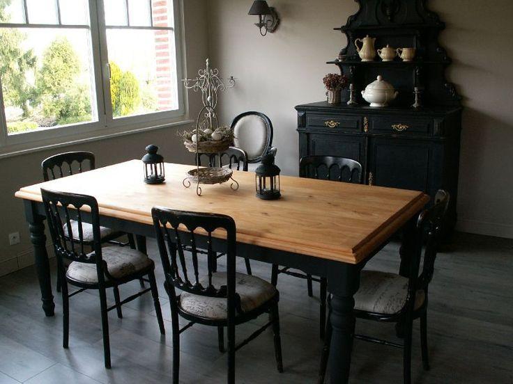 cuisine repeinte en noir id e relooking cuisine c 39 est le nom de ma nouvelle table
