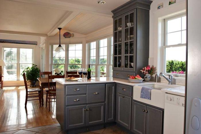 id e relooking cuisine cuisine modele de cuisine grise quelle couleur pour une cuisine moderne. Black Bedroom Furniture Sets. Home Design Ideas