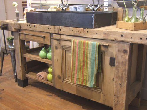id e relooking cuisine la seconde vie d 39 un vieil tabli. Black Bedroom Furniture Sets. Home Design Ideas