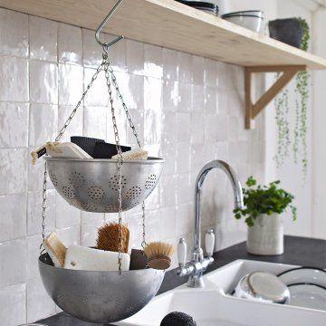 id e relooking cuisine un rangement r cup dans la cuisine marie claire id es. Black Bedroom Furniture Sets. Home Design Ideas