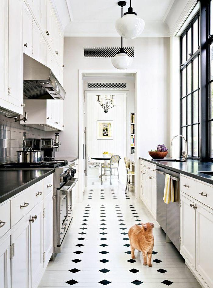 id e relooking cuisine vous cherchez des id es pour un carrelage noir et blanc listspirit. Black Bedroom Furniture Sets. Home Design Ideas