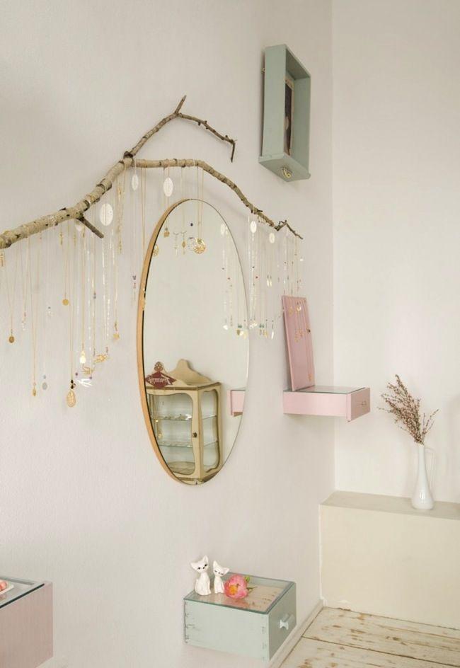 salle manger 10 fa ons d co de ranger ses bijoux. Black Bedroom Furniture Sets. Home Design Ideas