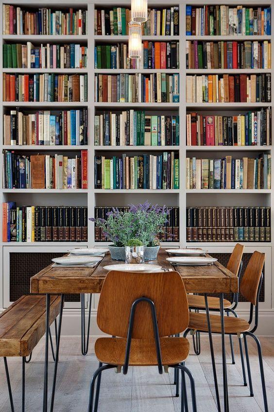 Description Dining Room Library