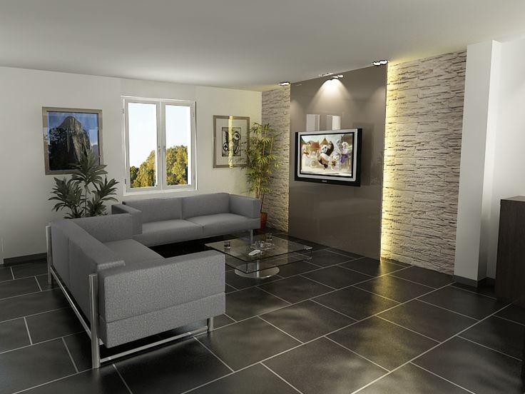 Mur de pierre encardement tv magnifique listspirit for Salle a manger en pierre