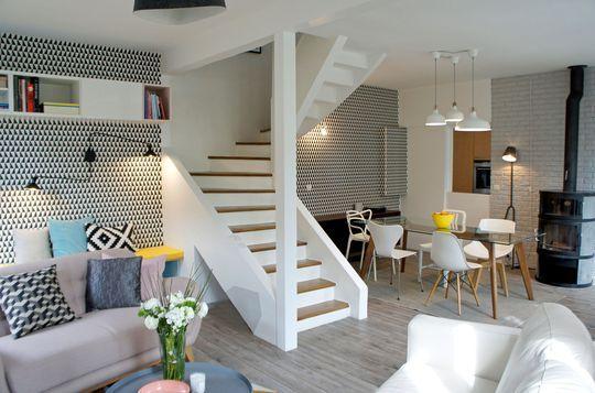 Salle à manger - Rénovation maison : un séjour à la décoration ...