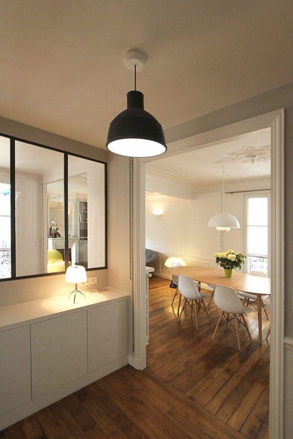 Salle à manger - Un Appartement Haussmannien de 85m2 par CAMILLE ...