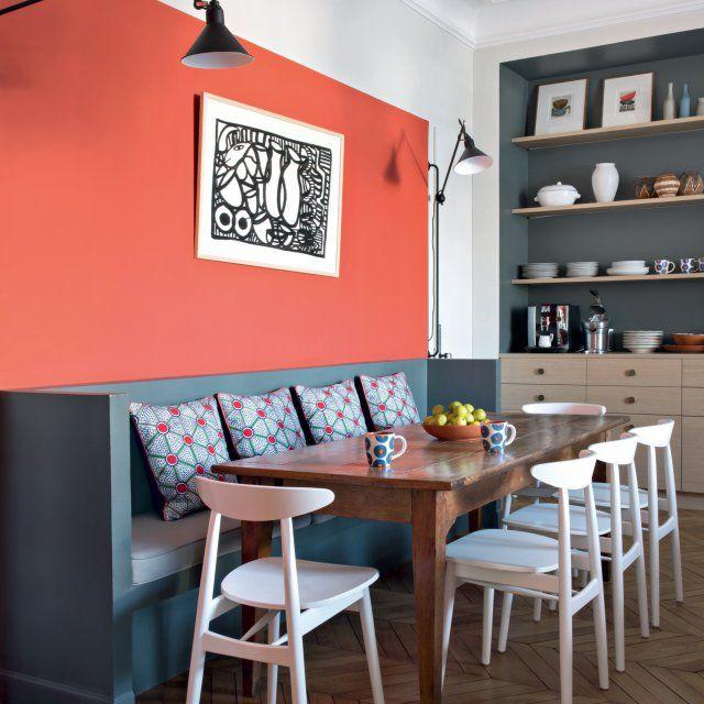 salle manger un coin repas convivial dans la cuisine. Black Bedroom Furniture Sets. Home Design Ideas
