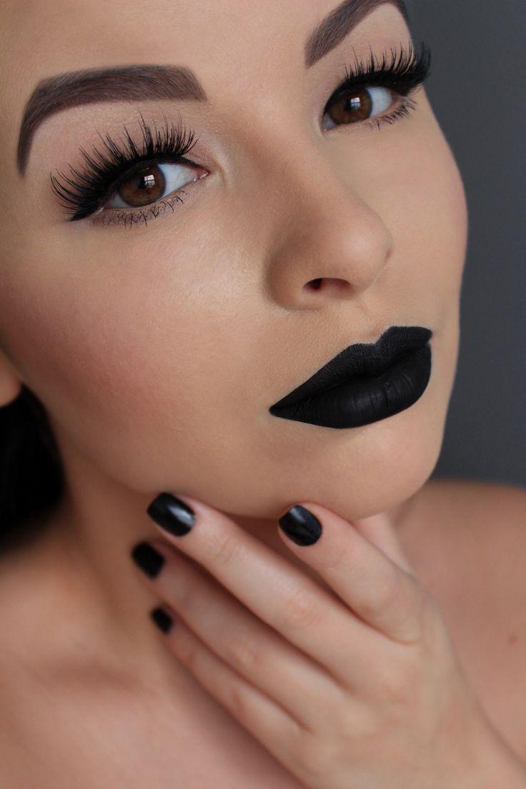 tendance maquillage yeux 2017 2018 lime crime black velvet velvetine house of lashes black. Black Bedroom Furniture Sets. Home Design Ideas