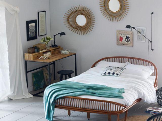 D coration vintage nos 20 plus belles chambres cocooning - Amenager chambre bureau 10m2 ...