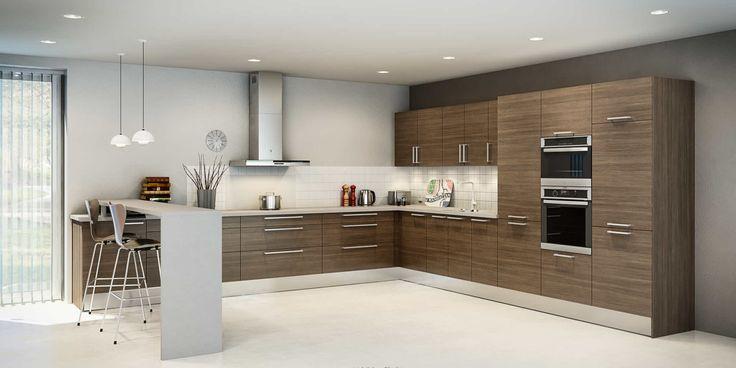 id e relooking cuisine cuisine avec bar cuisine en l. Black Bedroom Furniture Sets. Home Design Ideas