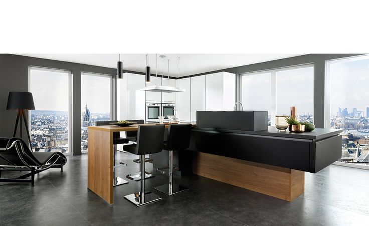 Idée relooking cuisine - Cuisine Design - Stratifie brillant ...
