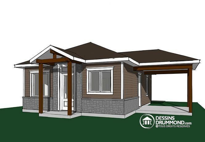 id e relooking cuisine dessins drummond w1910 bh1 plan de maison moderne rustique 2. Black Bedroom Furniture Sets. Home Design Ideas