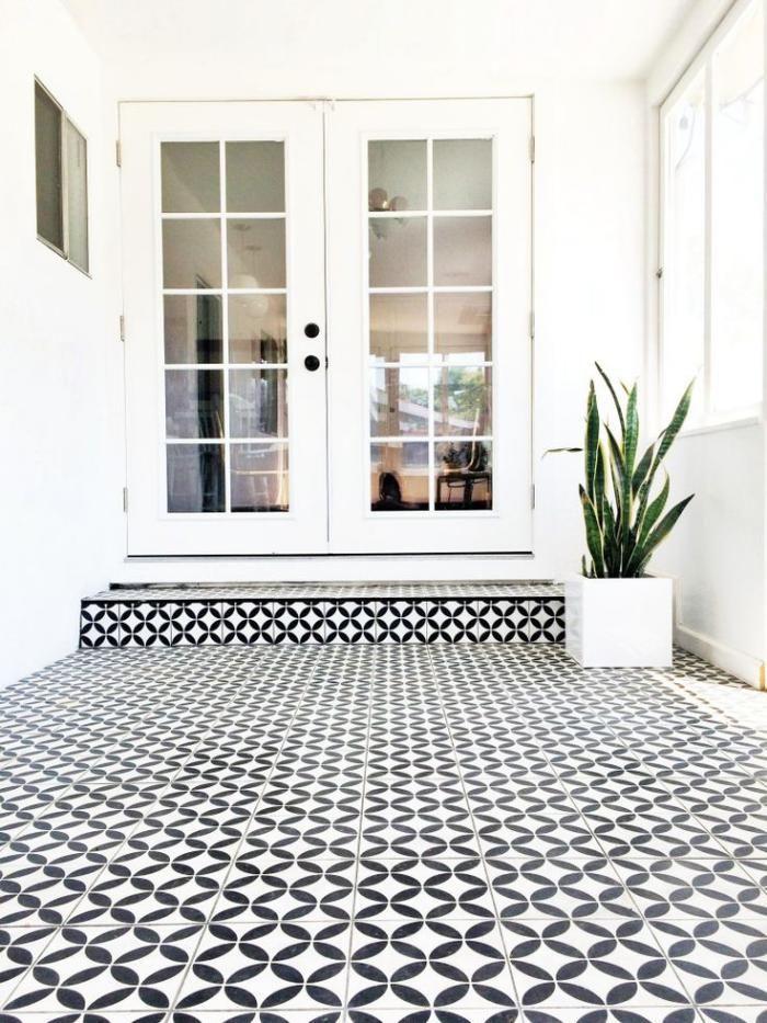 id e relooking cuisine le motif carreaux de ciment dans l 39 int rieur leading. Black Bedroom Furniture Sets. Home Design Ideas
