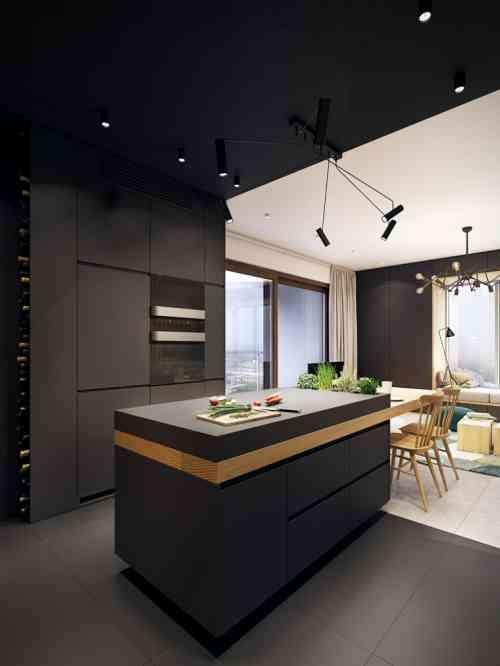id e relooking cuisine l 39 lot central est plac c t de la table manger listspirit. Black Bedroom Furniture Sets. Home Design Ideas