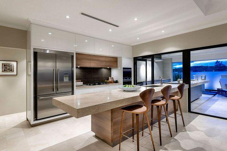id e relooking cuisine mod le de cuisine moderne en bois massif et blanc laqu lot en bois. Black Bedroom Furniture Sets. Home Design Ideas