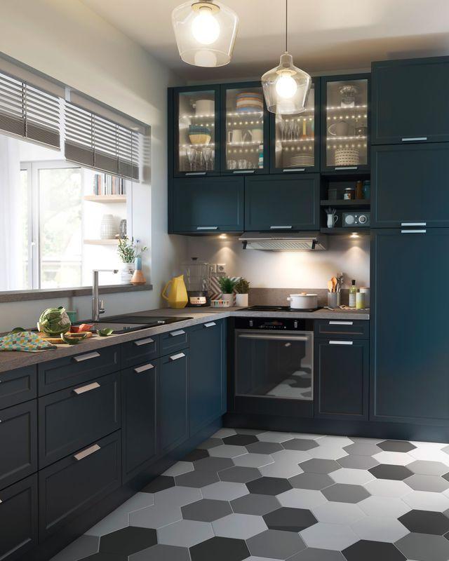 id e relooking cuisine sol cuisine carrelage parquet et rev tement d co. Black Bedroom Furniture Sets. Home Design Ideas